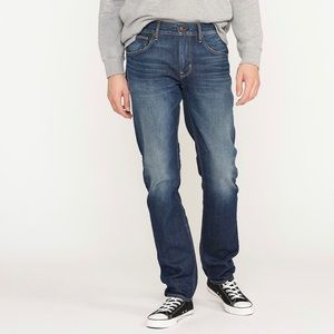 Hudson Bryon straight jeans, stonewashed 30x29
